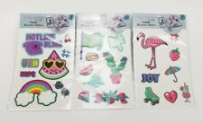 (Lot of 3) POP SHOP Mobile Accessory Stickers Large For Computer Phone etc.
