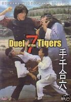 Duel of the 7 Tigers- Hong Kong Kung Fu Martial Arts Action movie DVD - NEW DVD