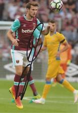 WEST HAM: HAVARD NORDTVEIT SIGNED 6x4 ACTION PHOTO+COA