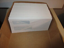 159  Check Envelopes 3, 5/8 x 8, 5/8. Double Window C0158 Columbia White