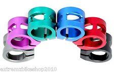 anaquda roller doppelschelle-pro roller klammer - 31.8mm - standard-lila