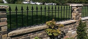 WROUGHT IRON METAL GARDEN RAILING FENCE PANEL - ANY SIZE QUOTED - MADE TO ORDER