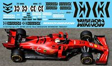 1/18 Ferrari SF90 2019 Test Mission Winnow Decals Vettel Leclerc TBDecal TBD357