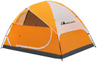 Moon Lence Camping Tent 2/4/6 Person Family Tent Double Layer Outdoor Tent Tent
