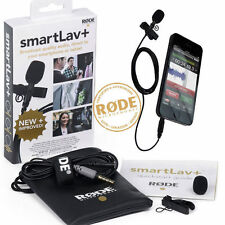 Rode SmartLav+ Lapel Lavalier Microphone smart lav for phone ipad ipod