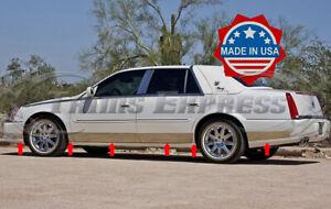 "2006-2011 Cadillac DTS Rocker Panel Trim Body Side Molding Cover FL-12Pc 6"""