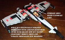 Custom Lego Star Wars Modified Mark VII Head Hunter 1st Gen X-Wing!