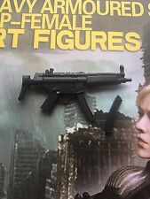 Art Figures Female Armored Cop Judge Anderson SMG & Clip loose 1/6th scale