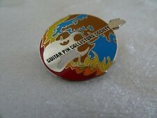 Hard Rock Cafe pin Guitar Pin Collectors Society Member Silver w/ black letters