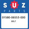 01580-06553-000 Suzuki Bolt 0158006553000, New Genuine OEM Part