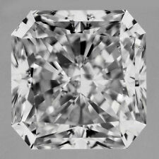 1.52 ct Radiant cut Loose Diamond G Si2 enhanced very brilliant #101