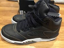 Air Jordan 5 Retro Prem Hc Black Light Bone ( 919710 030 ) 6Y / 7.5 women