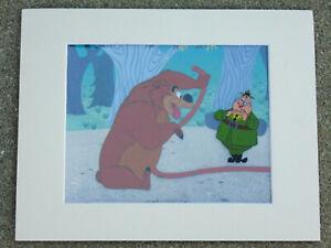 Disney Art Corner Cel Humphrey Bear From Beezy Bear 1955