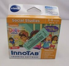 Vtech InnoTab Software - Dora and Friends - Social Studies Learing Game - New