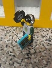 LEGO SERIES 8 - 8833 - DJ - MINIFIGURE - RECORD  & CASE & EARPHONES - SEALED
