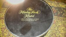 Vintage The Henley Park Hotel Grand Opening Hat Box and Hat