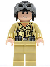 LEGO GERMAN SOLDIER 1 MINIFIG Indiana Jones minifigure WWII from set 7620 iaj003