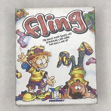 GAMEWRIGHT Fling card game Dr. Toy award winning
