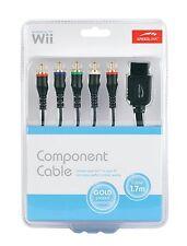 Speedlink Video Komponenten Kabel für Nintendo Wii/Wii U 480p Bild Ton D6-134148