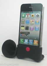 Horn Stand Speaker Amplifier For Apple iPhone 4 4S