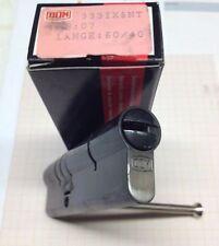 10 x DOM Profilzylinder  IX 5 NT  40 60 MB ohne Schlüssel Messing brüniert N+G