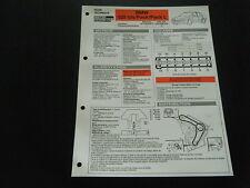 FICHE TECHNIQUE RTA BMW 525 TDS / PACK / PACK L