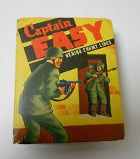 1943 CAPTAIN EASY Behind Enemy Lines BIG LITTLE BOOK Roy Crane FVF