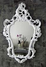 Specchio da parete barocco bianco 50X76 BAGNO SHABBY STILE ANTICO