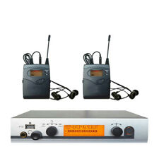 EW300 IEM G3 In Ear Wireless Monitor System For Stage Performance  2 receivers