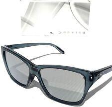 NEW* Oakley HOLD ON Crystal Black w Chrome Lens Women's Sunglass 9298-03