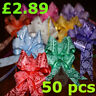 10-50 Pull Bow Decorations Large Wedding Car Xmas Gift Wrap Floristry Flower