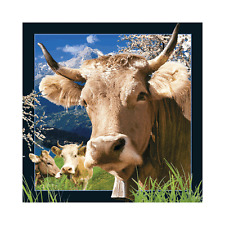 Worth Keeping 3D Lenticular Post Card - SWISS COW - #801