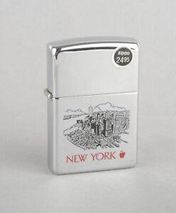 Zippo 2003 New York Cityscape Lighter (Polished Chrome)