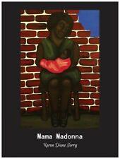 Original ethnic semi gloss poster 18 in x 24 in by artist Karen Terry