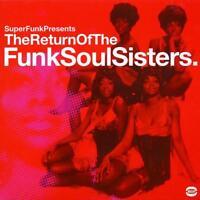 RETURN OF THE FUNK SOUL SISTERS Various Artists NEW & SEALED 2X LP VINYL  (BGP
