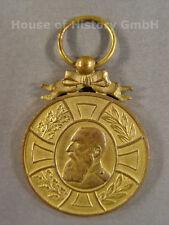 Bélgica: regenschafts medalla rey Leopoldo II. 1865-1905, oro bronce, 97162