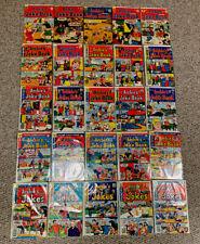 ARCHIE Comic Book Lot (25) Archie's Joke Book, Archie's Jokes, Reggie's Jokes