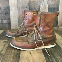Red Wing 877 Moc Toe Boots Men's 12c