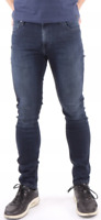 Mens Lee Malone skinny stretch fit jeans 'Midnight Blue' FACTORY SECONDS L259