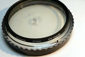 Canon 67mm UV  Haze  Lens Filter  genuine OEM