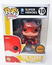 Funko ¡ POP! The Flash Metálico Persecución DC Comics JUBILADO CAJA