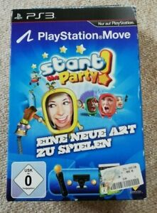 Sony PlayStation 3   Move Motion Controller   Starter Pack   Start the Party  