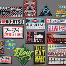 BJJ PATCH LOT - (2) Jiu Jitsu Gi Patches YOU PICK EM 18 to choose from IRON-ON