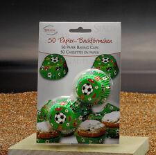 Städter Papierbackförmchen Fussball mini 50 Stück