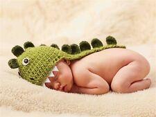 Mud Pie Little Star Newborn Photography Prop Dinosaur Knit Hat