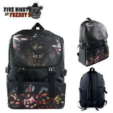 New FNAF Five Nights At Freddy's Backpack School Shoulder Bag Canvas Rucksack