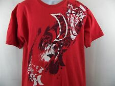 HURLEY L LARGE SHIRT RED 100% COTTON