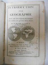 N de Fer - Introduction à la géographie .Quand la Californie est encore une île