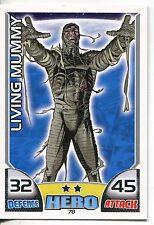 Marvel Hero Attax Series 1 Base Card #78 Living Mummy