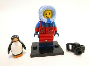 LEGO WILDLIFE PHOTOGRAPHER MINIFIGURE #7 COLLECTIBLE SERIES 16 + EXTRAS COL16-7